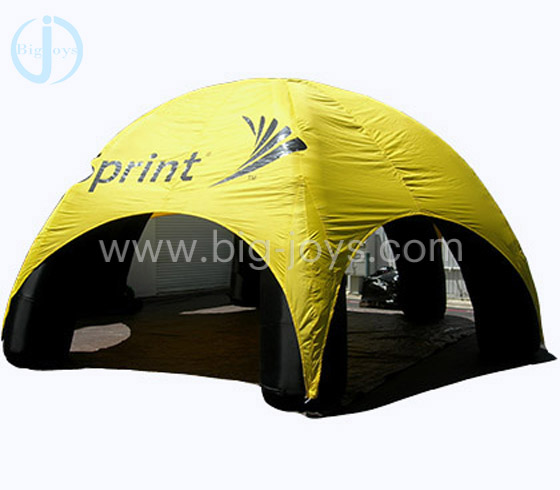 inflatable spider tent, beach tent