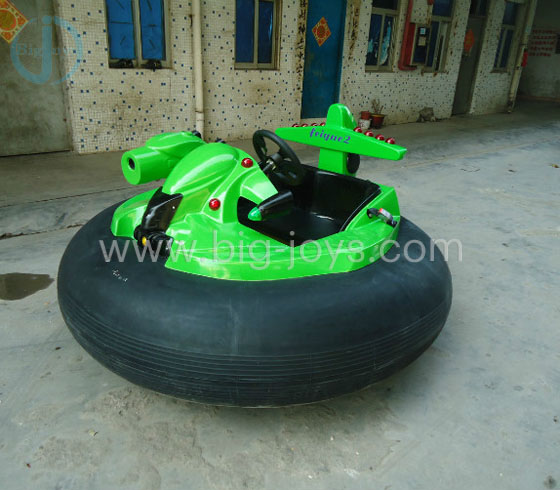 Round Battery Bumper car with Gun