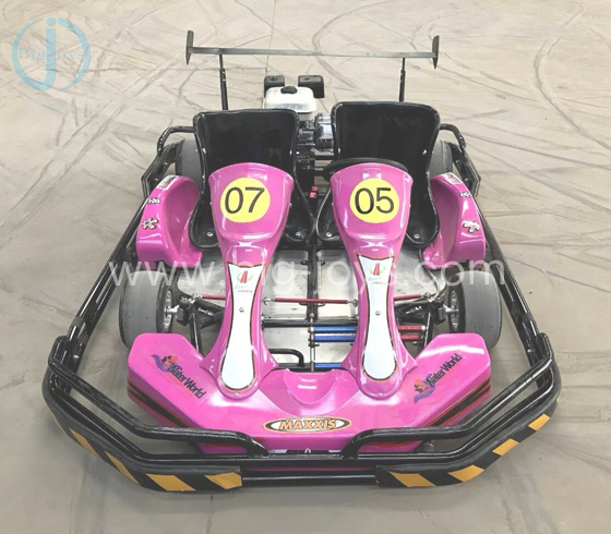 Double Fuel Go Cart