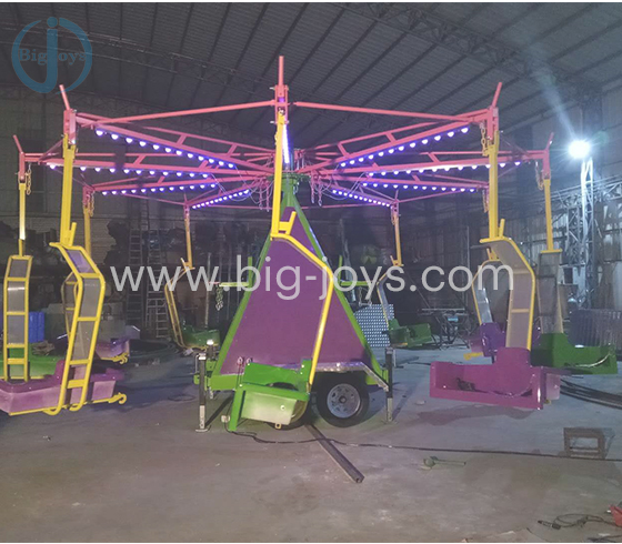 Swing Rides with Trailer