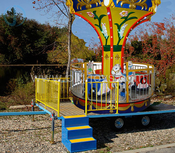 6 Seats Carousel with Trailer