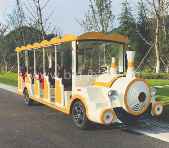 Four Wheel Electric Sightseeing Bus